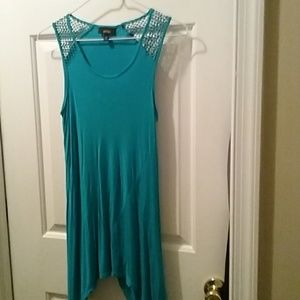 Apt 9 teal green tank